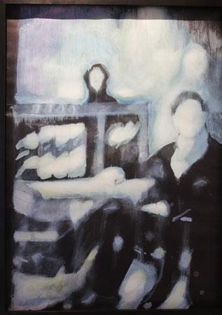 """""""1896"""" by artist Suleman Khilji."""