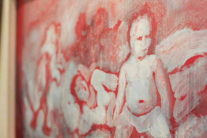 """Bubbles 2"" by artist Suleman Khilji."