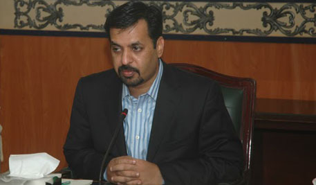 MQM's Mustafa Kamal was elected Karachi's Mayor in 2006. He rose to become one of the city's most popular officials.