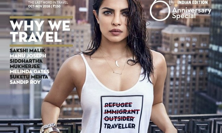 Since when did Priyanka Chopra, one of the world's highest paid TV actors, relate to a refugee?