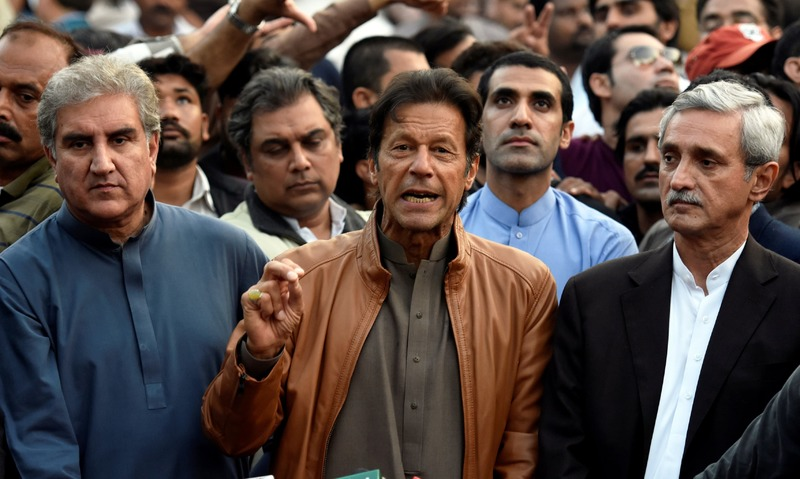 Is this a kingdom or democracy? asks Imran Khan - Pakistan ...