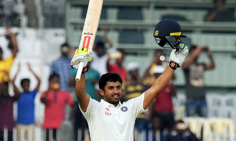 sport india england fifth test four match report karun nair