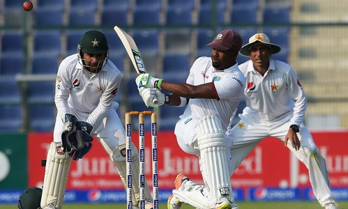 Second Test: West Indies 106-4 at close on day two