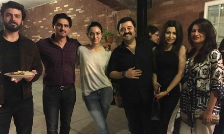 Fawad and Sadaf's first post-baby party draws a celeb crowd