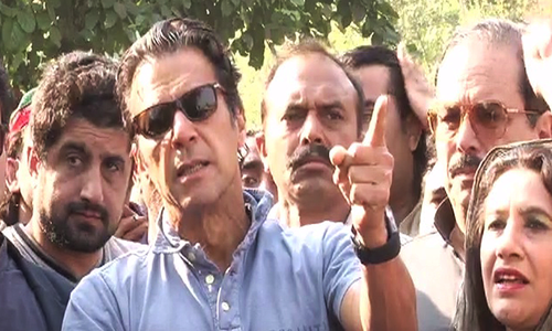 Imran Khan asks SC to take suo motu notice of PTI workers' arrest
