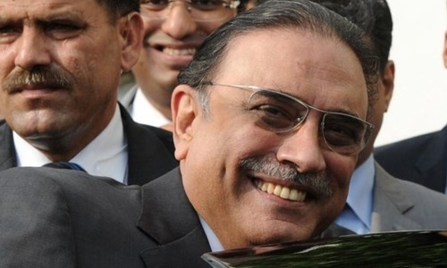 Zardari off to Dubai