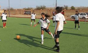 Karachi United's women football team is transcending borders and kick-starting a revolution