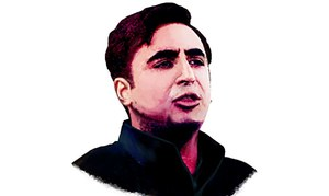 Bilawal Bhutto: The poster boy