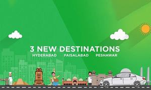 Careem test launches ride-hailing services in Peshawar, Hyderabad and Faisalabad