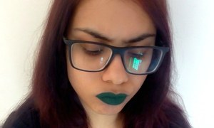 I wore green lipstick to work and everyone loved it