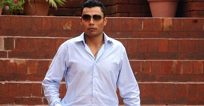 Danish Kaneria. -Photo by AFP