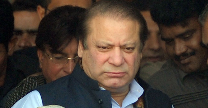 PML-N chief Nawaz Sharif. — File photo by AFP