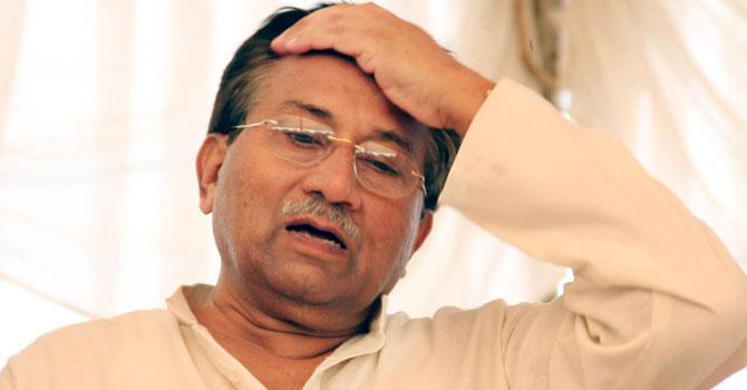 Former president Pervez Musharraf. — File photo