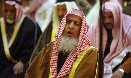 Grand Mufti Sheikh Abdul Aziz Al-Sheikh. -Photo by Reuters