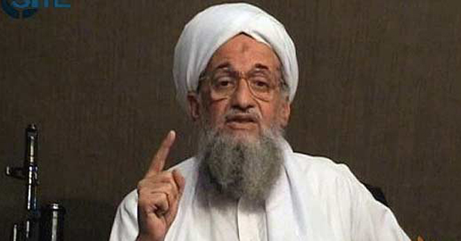 Al Qaeda leader Ayman al-Zawahiri. — File photo