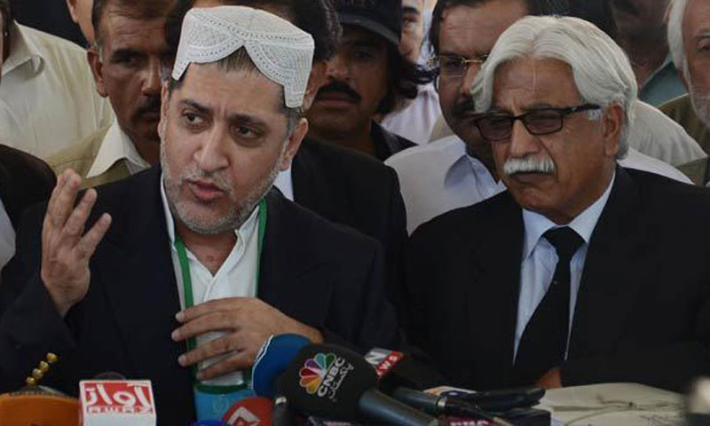 Balochistan National Party leader Sardar Akhtar Mengal. — File Photo