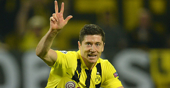 Robert Lewandowski. -Photo by AFP