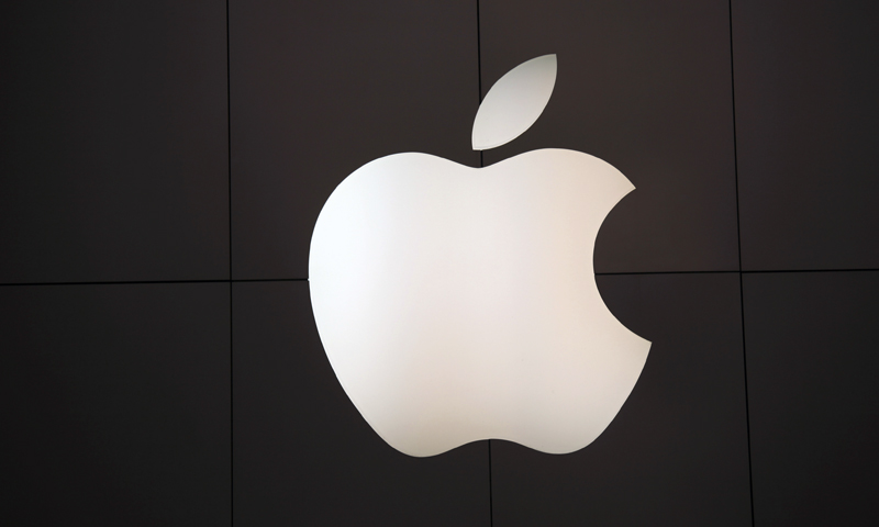 The Apple logo at the company's flagship retail store in San Francisco, California. — Reuters (File Photo)