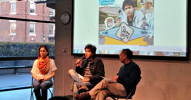 An evening of discussion and music with Pakistani music icon and social activist, Shahzad Roy took place at Harvard University, Student Organization Center at Hilles (SOCH). — Courtesy Photo
