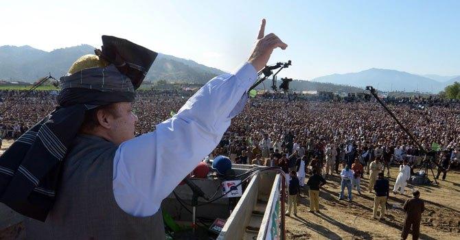 Pakistan Muslim League-Nawaz (PML-N) chief Nawaz Sharif. — File Photo