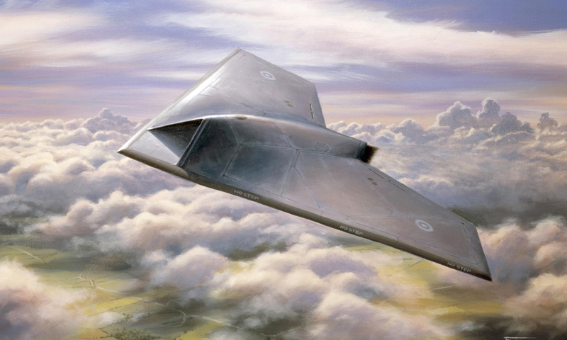 In this undated artist's rendering provided by BAE Systems, Taranis aircraft is shown. A new United Nations draft report posted online this week objects to the use of weapons systems like the Taranis that can attack targets without any human input. — AP (File Photo)