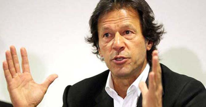 Pakistan Tehrik-i-Insaf (PTI) chief Imran Khan.—File Photo