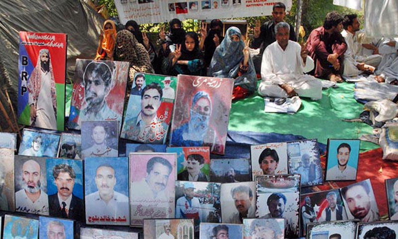 Photographs of missing persons.— File Photo