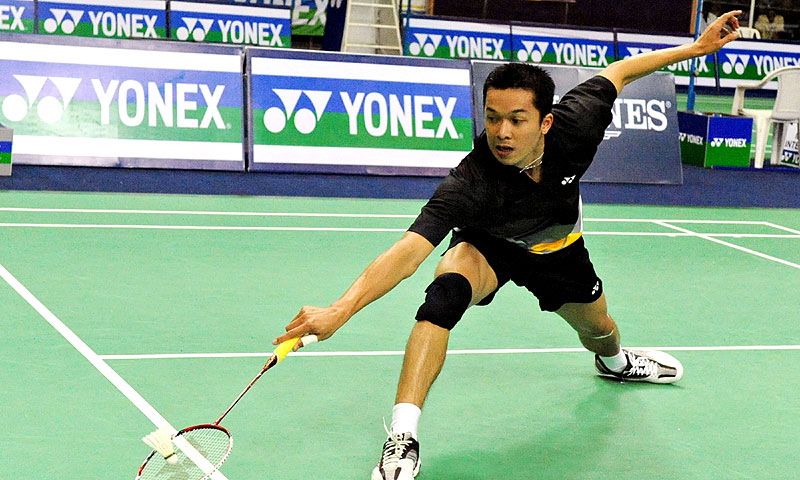 Top shuttlers including Lee Chong Wei, Taufik Hidayat (pictured) and Saina Nehwal, have already welcomed the use of the new system, which they feel will help eradicate heated line-call disputes from the sport. -Photo by AFP