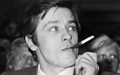 French actor Alain Delon. —Photo (File) AFP