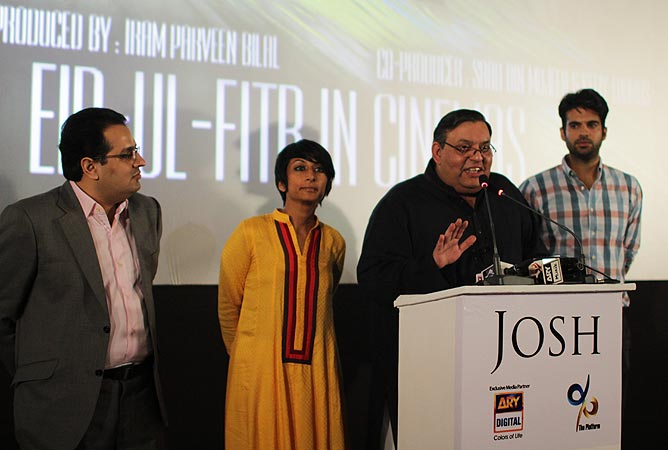 (L-R) Mohammad Jerjees Seja, Iram Parveen Bilal. Nadeem Mandviwalla and Adnan Malik.–Photo by Alisia Pek