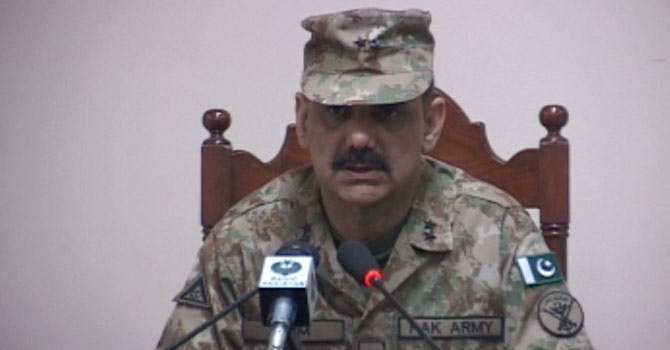 DG ISPR? Major General Asim Saleem Bajwa. -Photo provided by Zahir Shah Sherazi