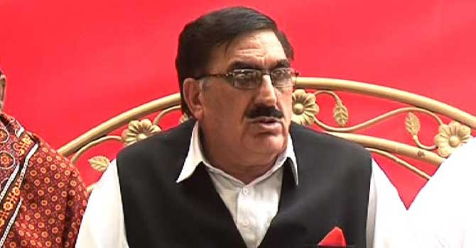 President of ANP's Sindh chapter Senator Shahi Syed. – File Photo