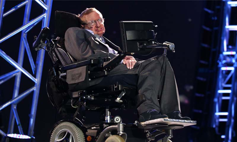 Hawking joined the academic boycott of Israel and pulled out of the Israeli Presidential Conference: Facing Tomorrow 2013, under the auspices of President Peres. — Photo Reuters