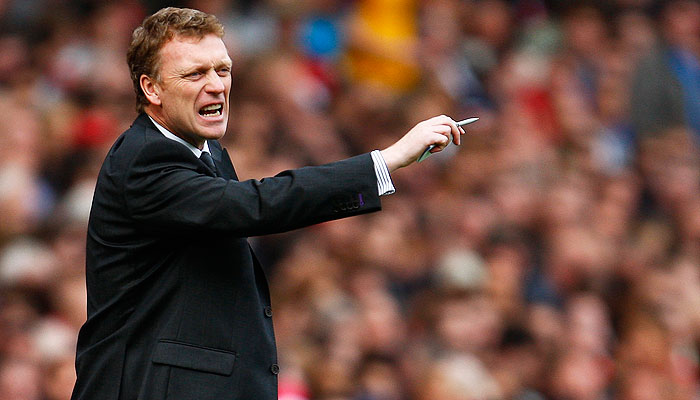 David Moyes. -Photo by Reuters