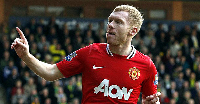 Paul Scholes. -File photo