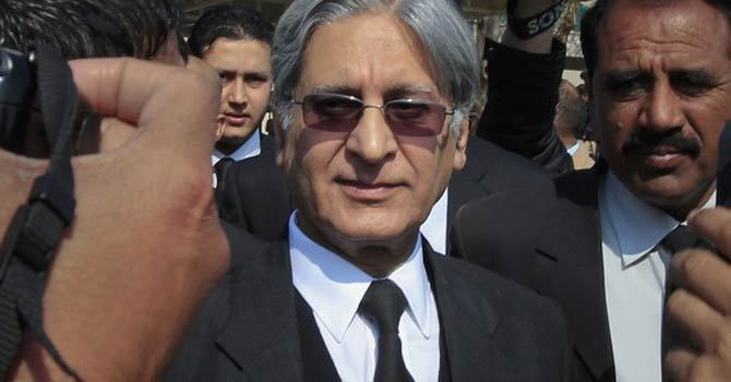 PPP leader Aitzaz Ahsan. — File photo