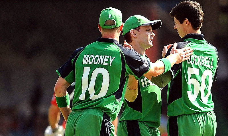 Ireland face Pakistan in Dublin on May 23 and May 26. -Photo by AFP