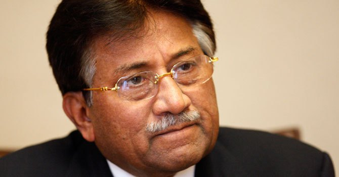 Former president General (retd) Pervez Musharraf. — Photo by AFP/File