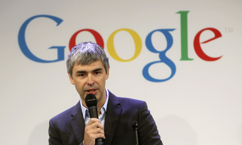In this Monday, May 21, 2012, photo, Google CEO Larry Page speaks at a news conference at the Google offices in New York, Monday, May 21, 2012. — AP (File Photo)