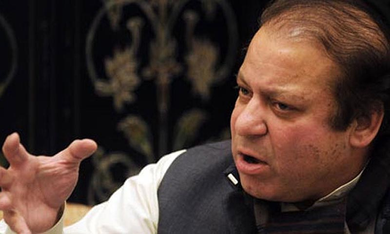 Pakistan Muslim League - Nawaz (PML-N) chief Nawaz Sharif.—File Photo