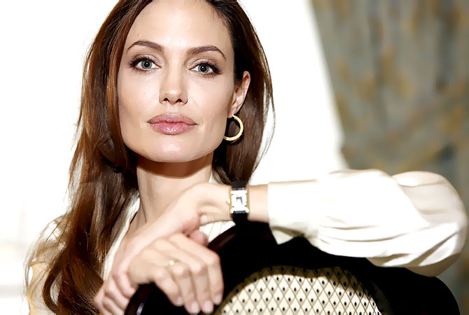 "Angelina Jolie poses for a portrait to promote her directorial debut of the film ""In the Land of Blood and Honey""  in New York.–AP (file) Photo"