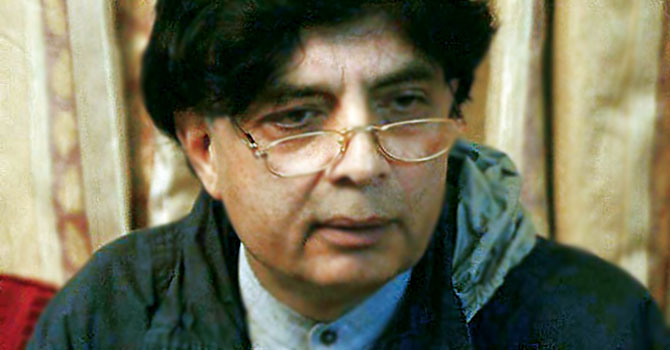 Former leader of the Opposition, Chaudhry Nisar Ali Khan.— File Photo