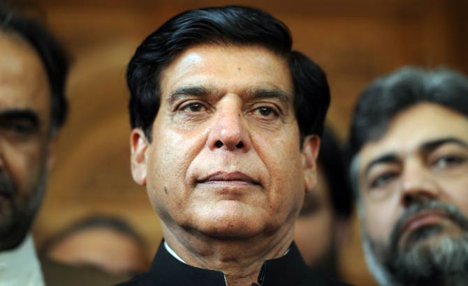 Former prime minister Raja Pervez Ashraf.—File Photo
