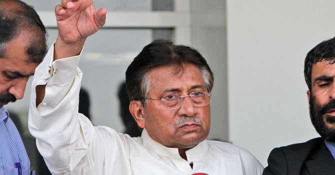 Former president retired Gen Pervez Musharraf. — File Photo