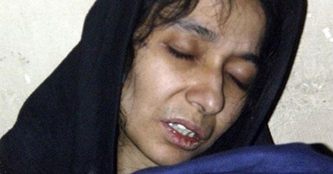 Dr Aafia Siddiqui.—File Photo