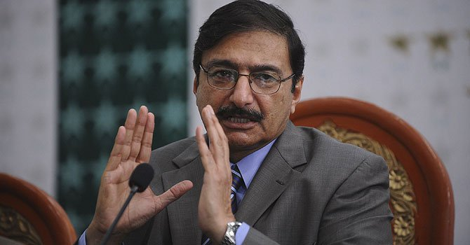 PCB Chief Zaka Ashraf.