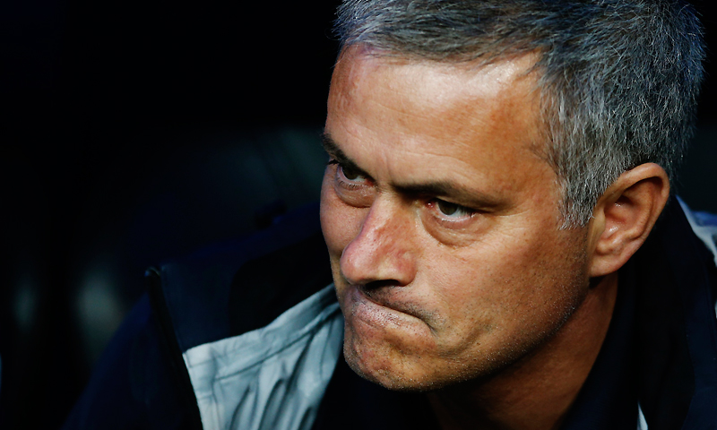 Jose Mourinho joined Real Madrid as coach in 2010. -Photo by Reuters