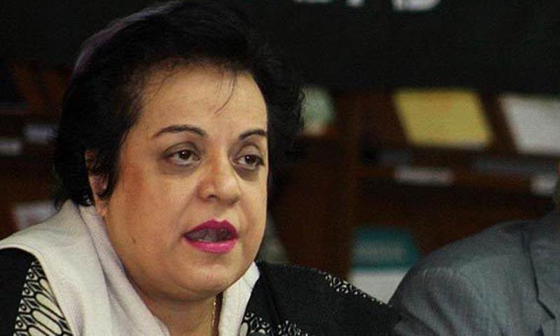 PTI information secretary Dr Shireen Mazari. — Photo ONLINE
