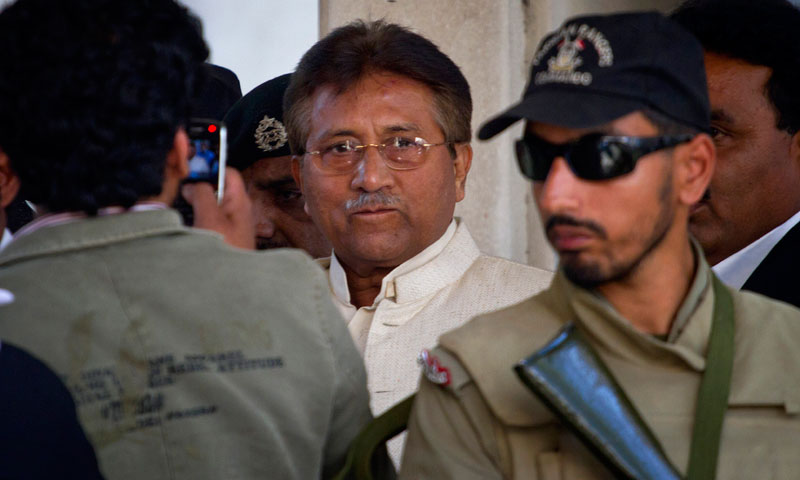 Former military ruler Pervez Musharraf.— File photo