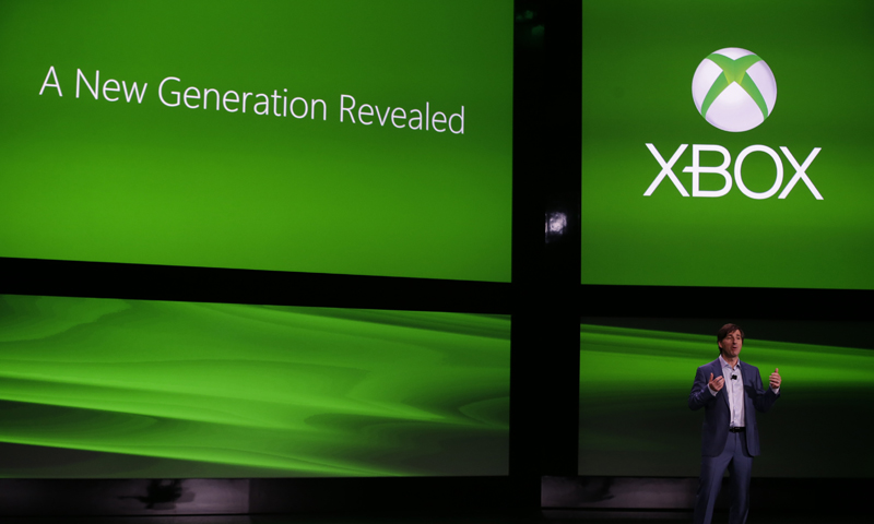 Microsoft Corp.'s Don Mattrick unveils the next-generation Xbox entertainment and gaming console system, Tuesday, May 21, 2013, at an event in Redmond, Wash.— AP Photo